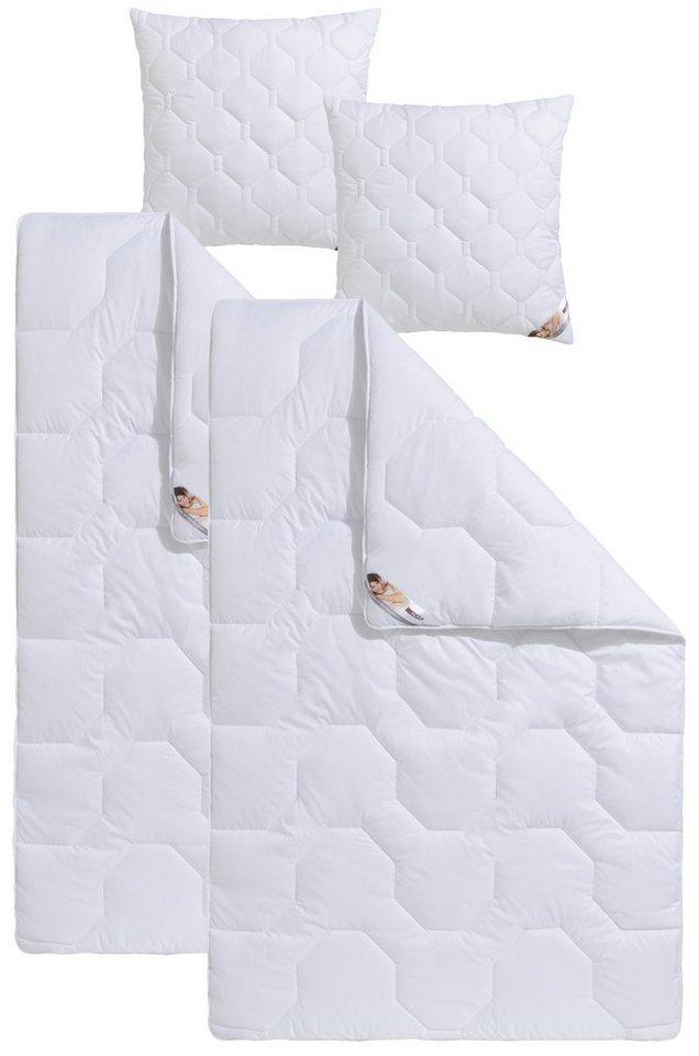 Microfaserbettdecken Kunstfaserkissen Bw70 Kochfest My Home Warm Material Fullung Polyester Online Kaufen Otto