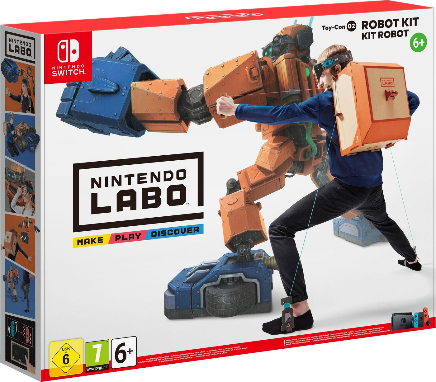 Image of Nintendo Labo - Toy-Con 02 Robo-Set (Nintendo Switch)