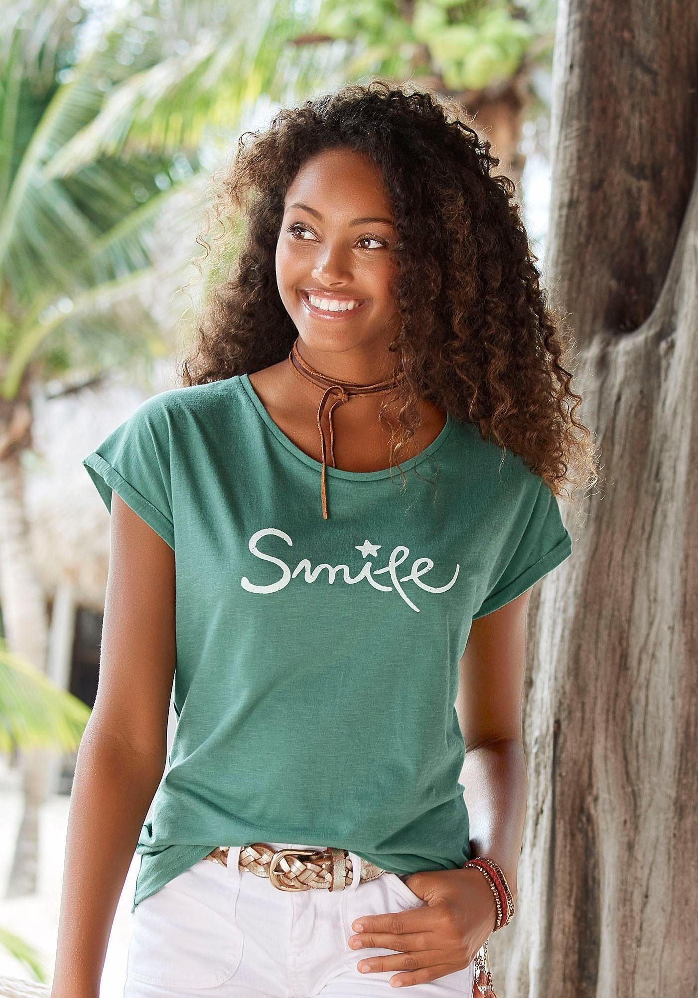 Beachtime T-Shirt »Smile«