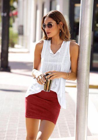 LASCANA Mini ilgio sijonas