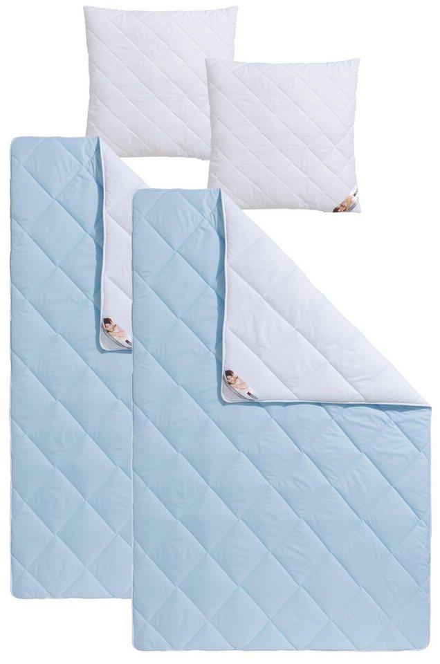 Microfaserbettdecken Kunstfaserkissen Top Cool My Home Warm Material Fullung Polyester Online Kaufen Otto