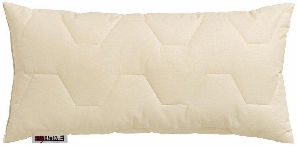 Kunstfaserkopfkissen Baumwolle 60 C My Home 1 Tlg Online Kaufen Otto