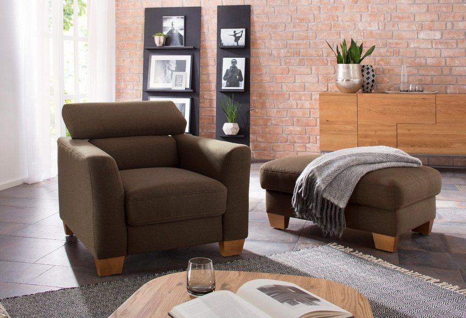home affaire sessel steve mit kopfteilverstellung online. Black Bedroom Furniture Sets. Home Design Ideas