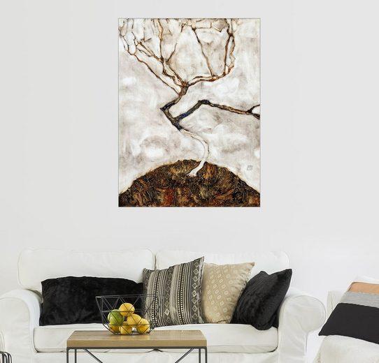 Posterlounge Wandbild - Egon Schiele »Kleiner Baum im Spätherbst«
