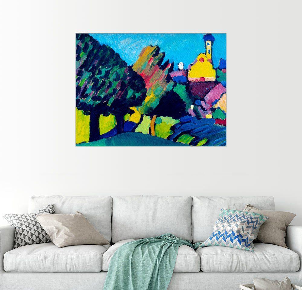 Posterlounge Wandbild - Wassily Kandinsky »Murnau - Herbstliche Landschaft«
