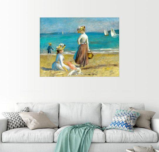 Posterlounge Wandbild - Pierre-Auguste Renoir »Frauen am Strand«