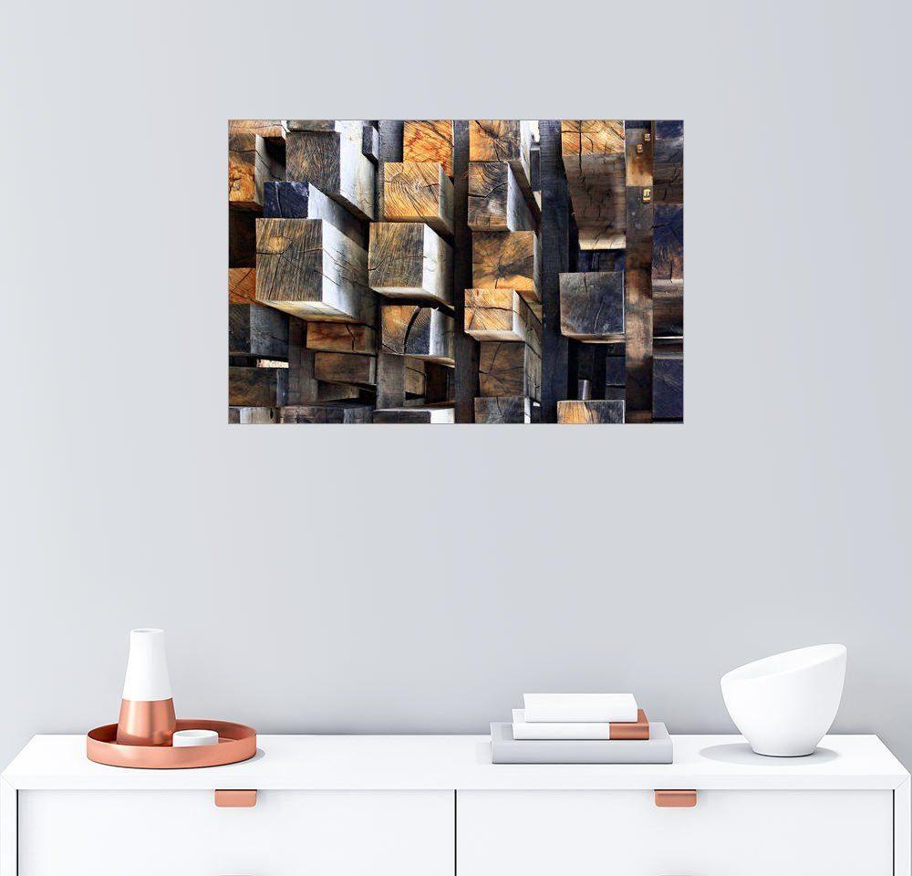Posterlounge Wandbild - Francois Casanova »New Oak City«