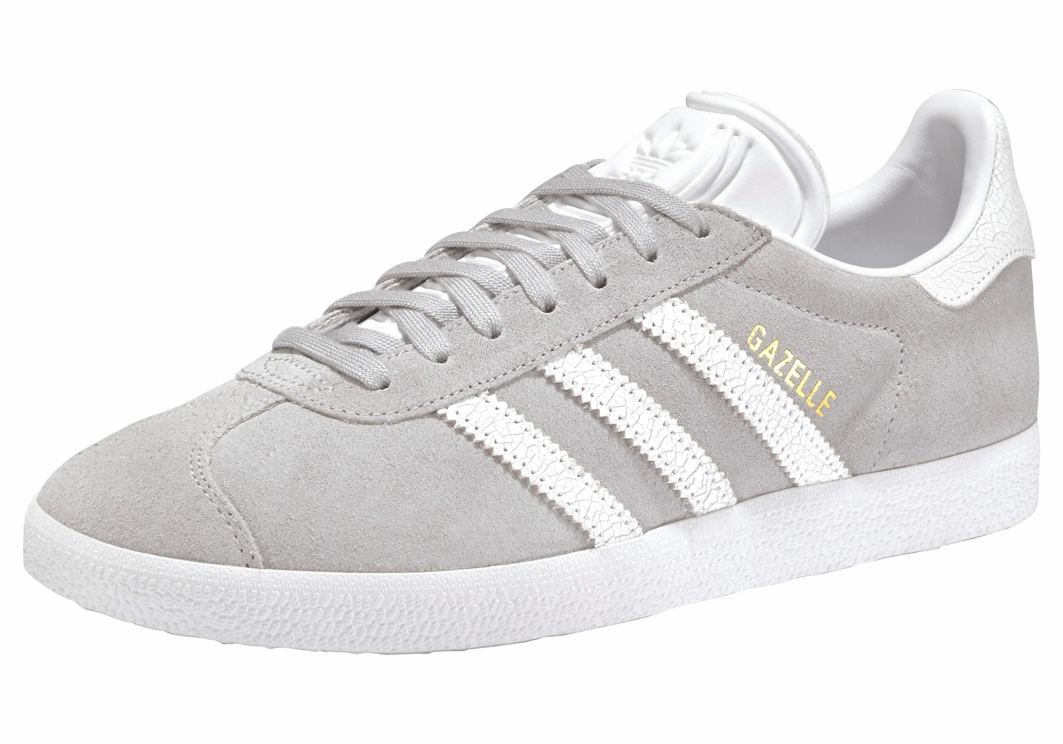adidas Originals Gazelle W Sneaker online kaufen  grau-weiß