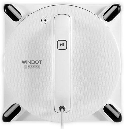 Ecovacs Wischroboter WINBOT 950, 75 Watt, Energieeffizientes Smart Drive Reinigungssystem