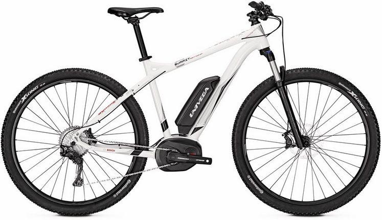 Univega E-Bike »Summit E 4.0«, Shimano Deore XT Schaltwerk, Kettenschaltung, Mittelmotor 250 W