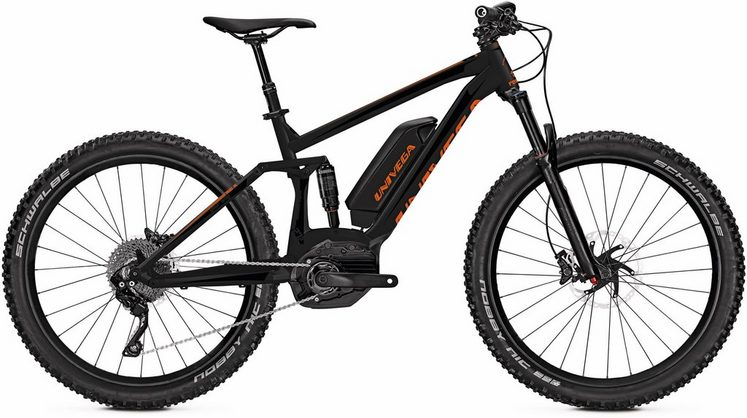 Univega E-Bike »Renegade B 4.0 Plus«, Shimano Deore XT Schaltwerk, Kettenschaltung, Mittelmotor 250 W