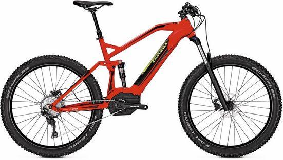 Univega E-Bike »Renegade B 3.0 Plus Integrated«, 11 Gang Shimano Deore SLX Schaltwerk, Kettenschaltung, Mittelmotor 250 W