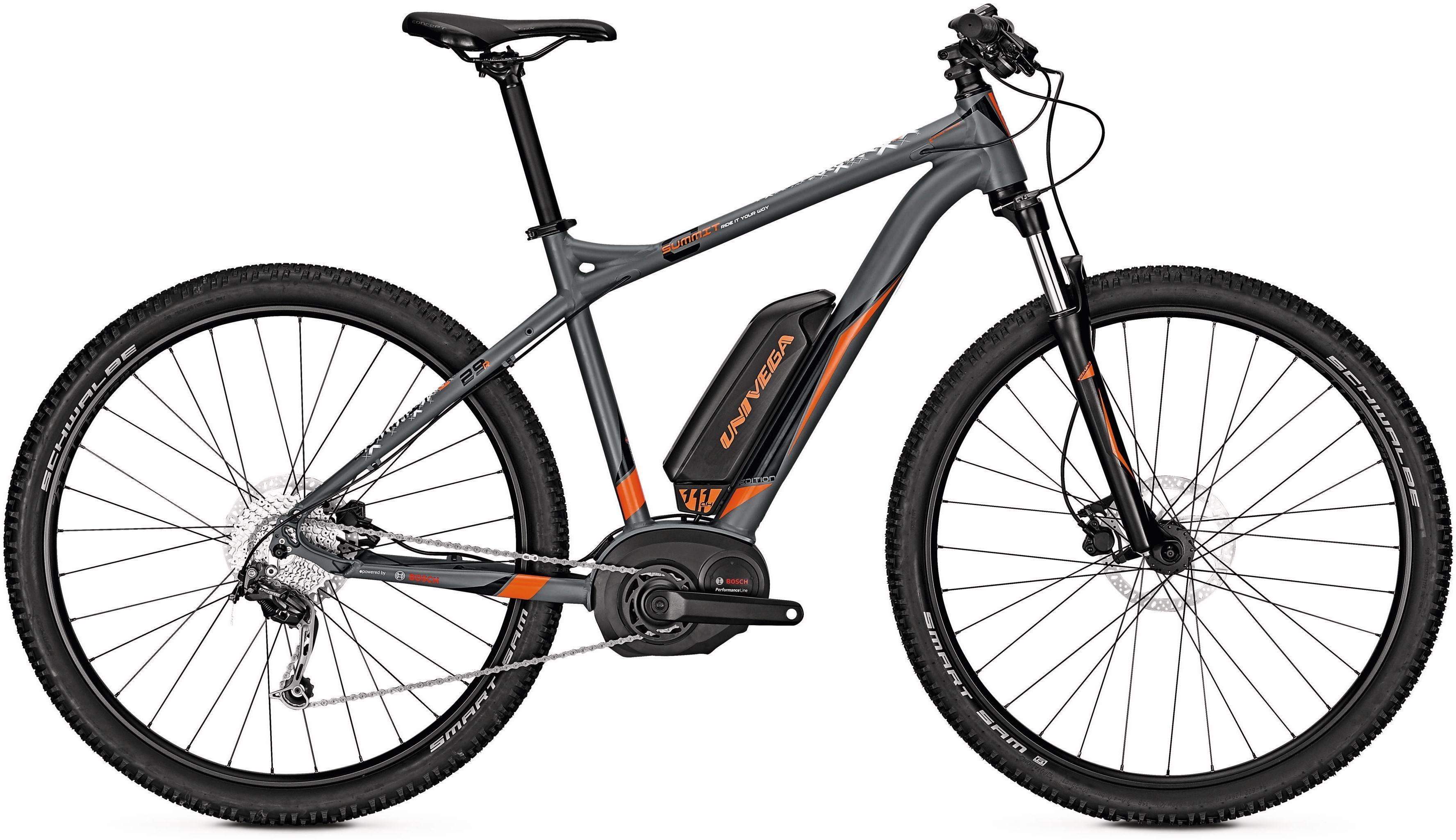 Univega Herren E-Bike ATB, 29 Zoll, 9 Gang Shimano Deore, »Summit E Edition«
