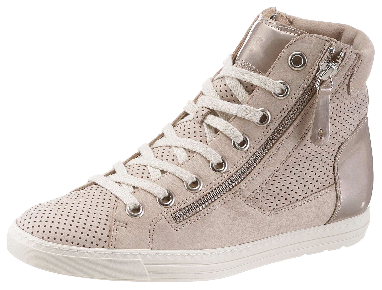 Paul Green Sneaker, mit Perforation online kaufen  beige