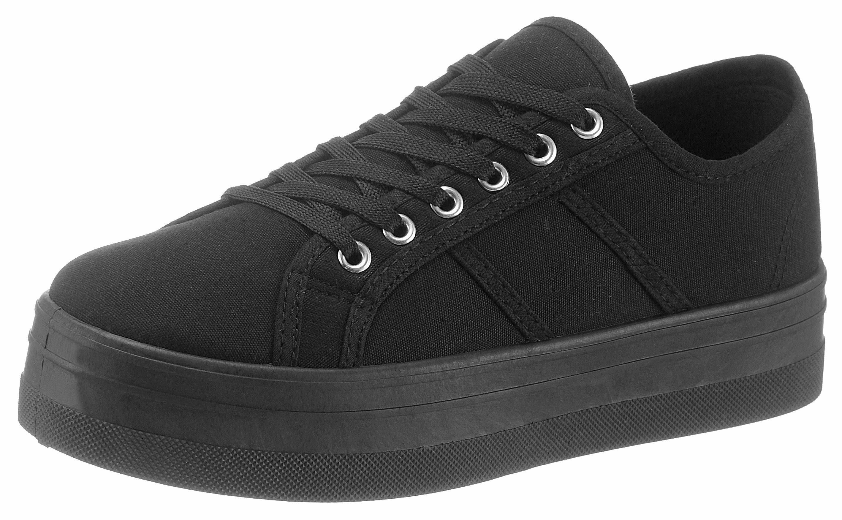 HaILYS »Pina« Sneaker, im Basic-Look, rosa, lachs