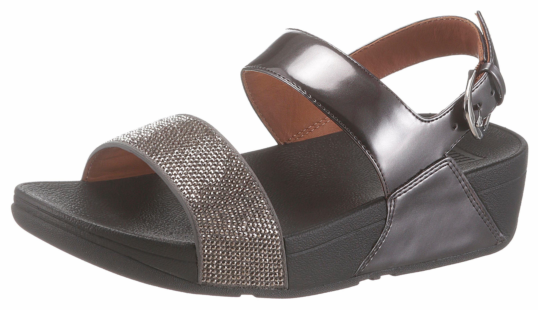 Fitflop Ritz Back-Strap Sandals Sandalette, mit Glitzerbandage online kaufen  altsilberfarben-schwarz