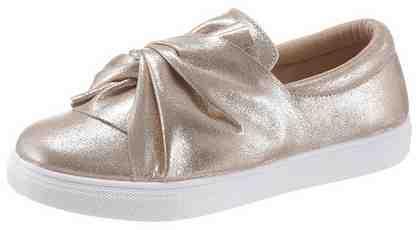 HaILY'S »Glam« Slip-On Sneaker mit modischen Knoten