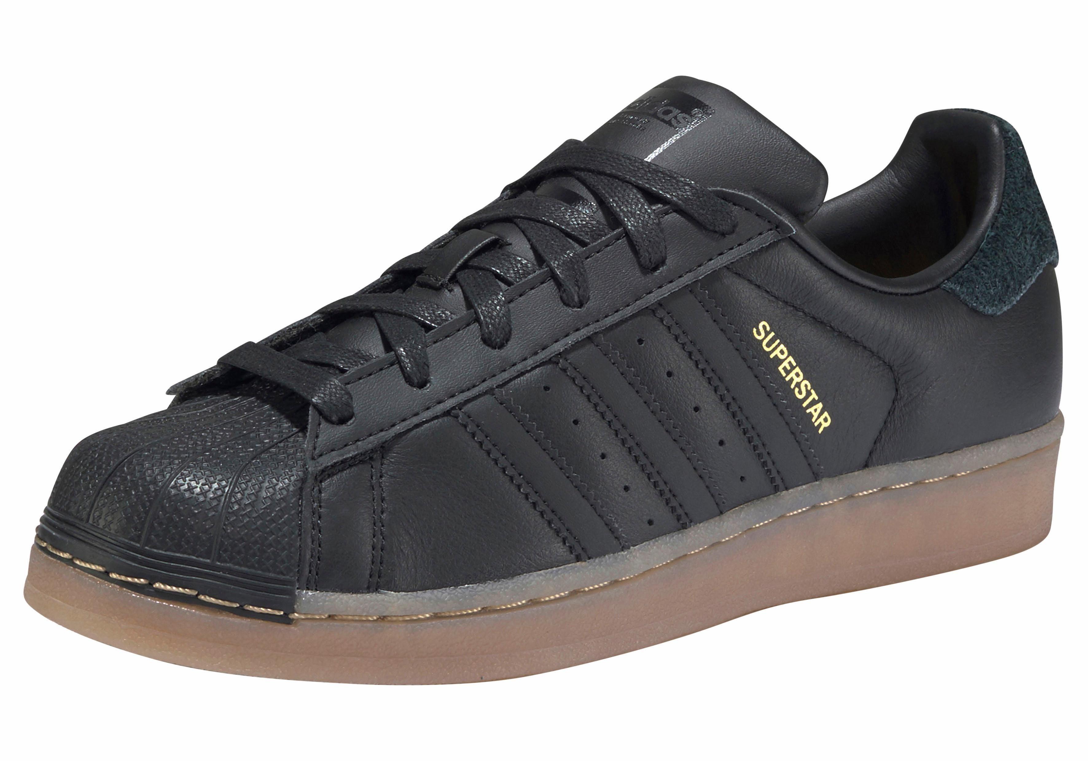 adidas Originals Superstar W Gum Sneaker kaufen  schwarz