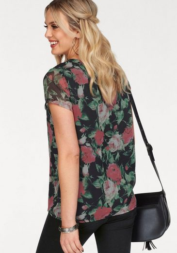 Vero Moda Shirtbluse LILI, in floraler Optik