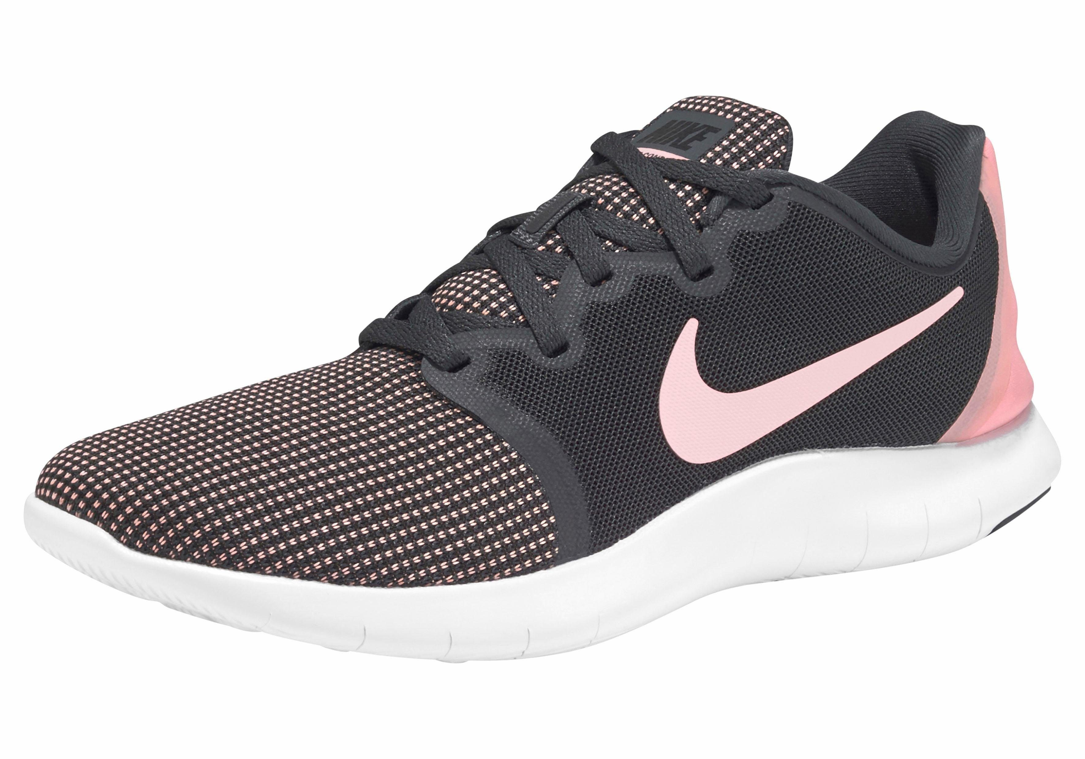 Nike Wmns Flex Contact 2 Laufschuh online kaufen  anthrazit-rosa