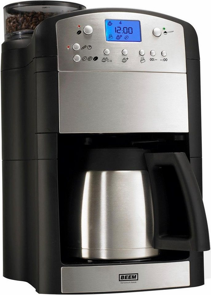 beem kaffeemaschine mit mahlwerk fresh aroma perfect deluxe v2 1 25l kaffeekanne online kaufen. Black Bedroom Furniture Sets. Home Design Ideas