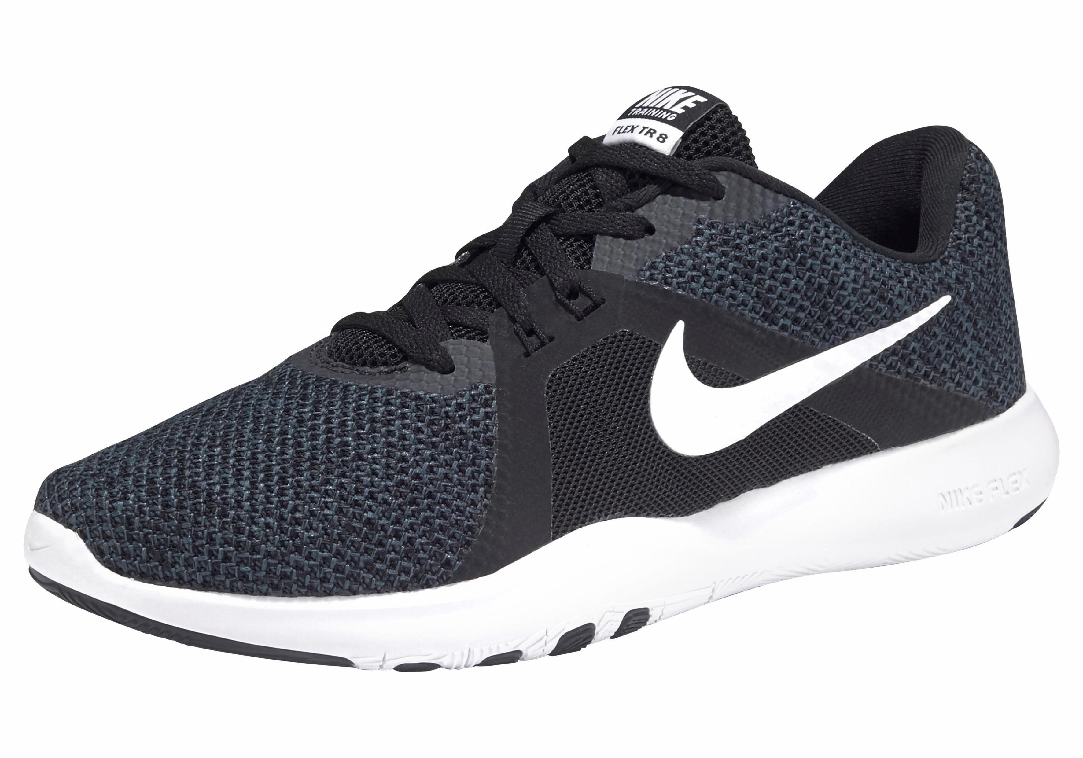 Nike »Wmns Flex Trainer 8« Fitnessschuh, Dynamische Flywire Fasern umschließt den Fußrücken und sorgt für eng anliegenden Halt online kaufen | OTTO