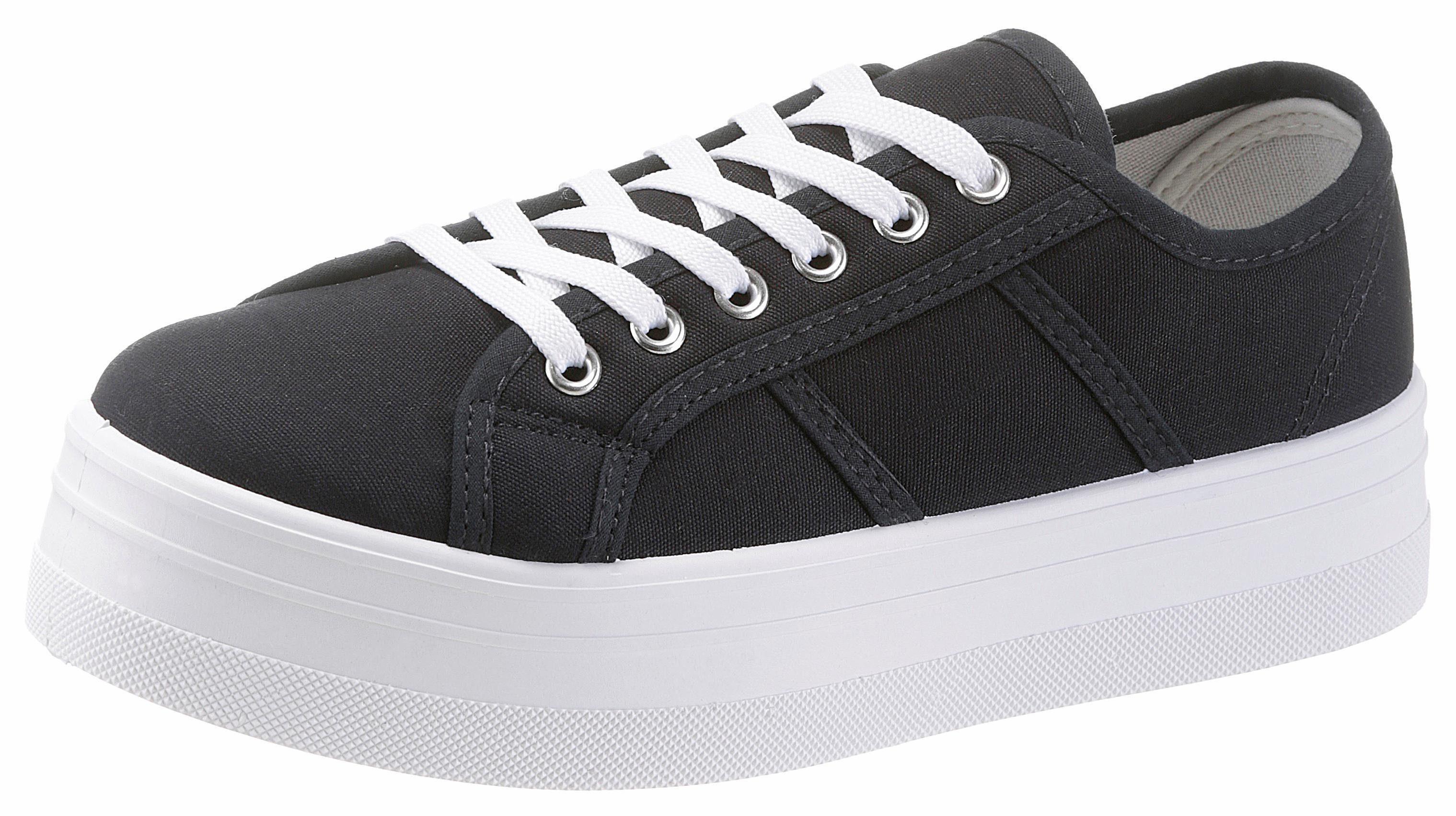 HaILYS Pina Sneaker, im Basic-Look online kaufen  dunkelblau