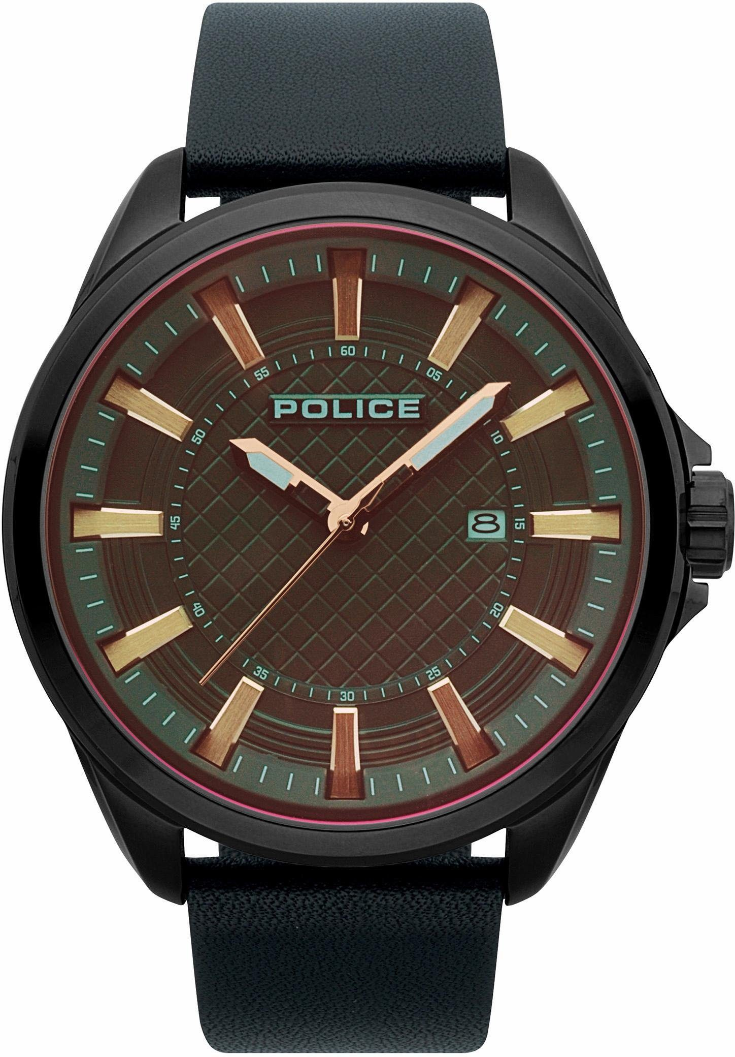 Police Quarzuhr »CHECKMATE, PL15408JSU.61«