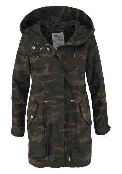 Only Parka »BECKY«, im Camouflage-Look