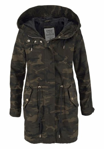 Only Parka BECKY, im Camouflage-Look