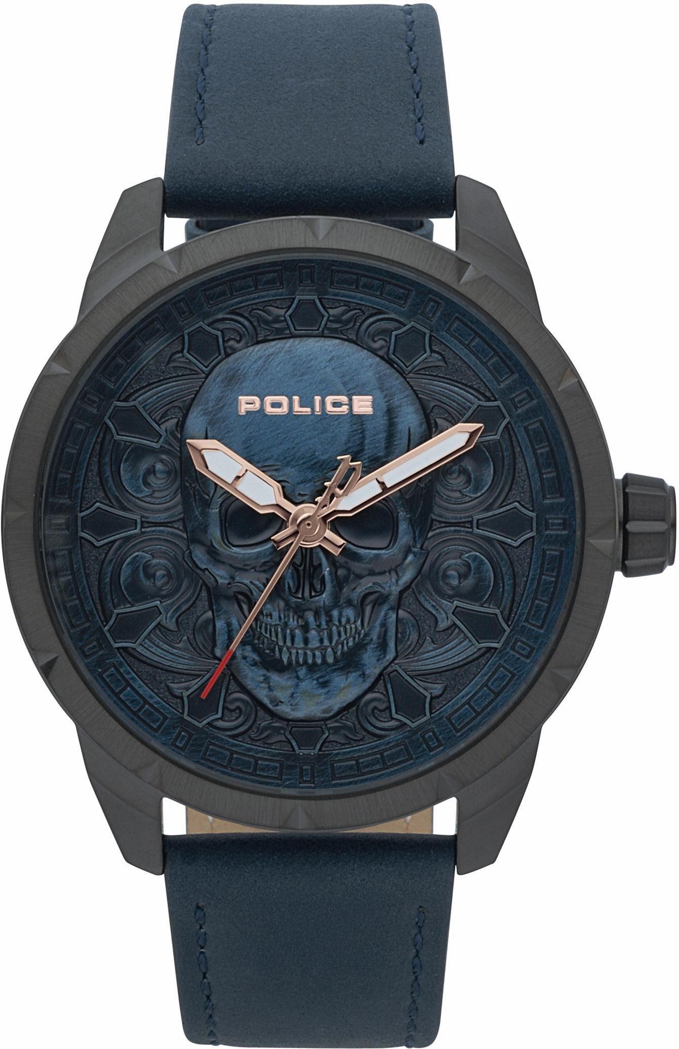 Police Quarzuhr »MYSTIC, PL15397JSU.80«