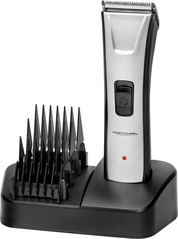 ProfiCare Haar- und Bartschneider PC-HSM/R 3013, Edelstahlfront