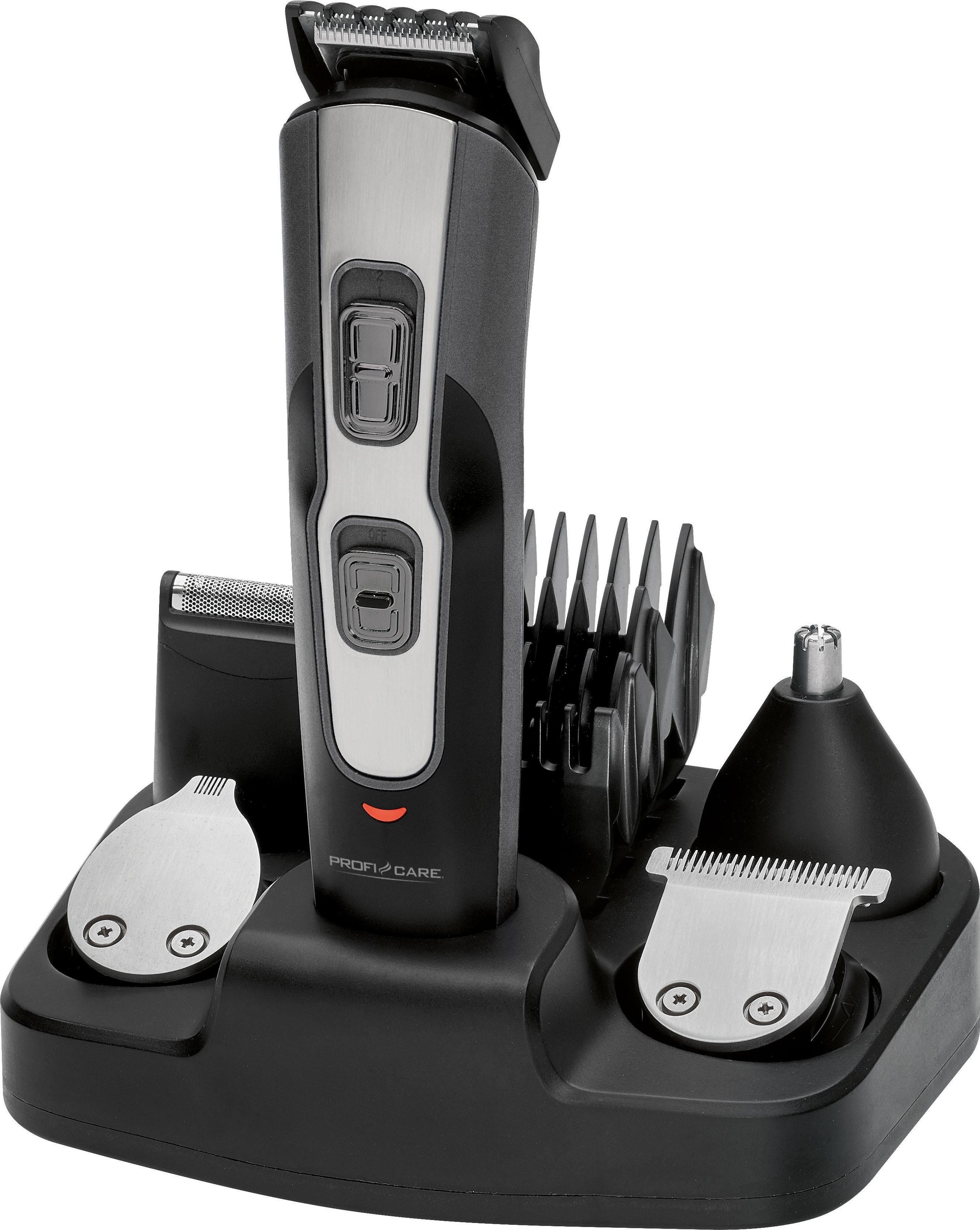 ProfiCare Haar- und Bartschneider PC-BHT 3014, 5 in 1, Multifunktionelles Haarschneidegerät