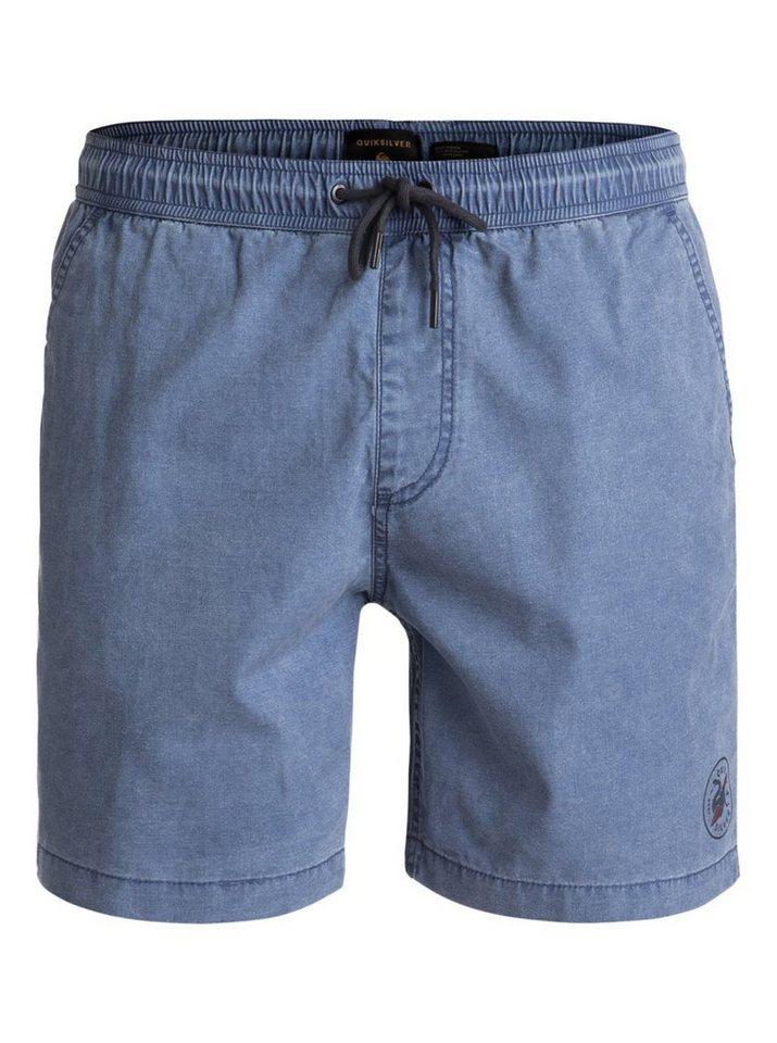 Herren Quiksilver Strand-Shorts Tioga blau   03613373455505