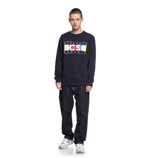 DC Shoes Sweatshirt Knuckle In A Row