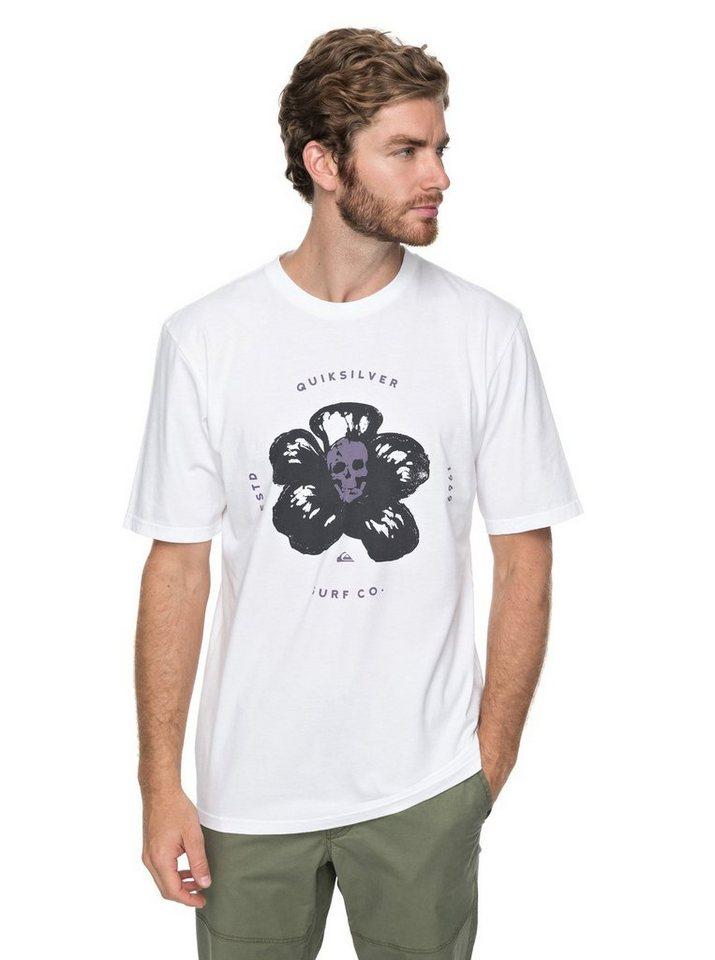 Herren Quiksilver T-Shirt Cosmic Heat weiß | 03613373405982