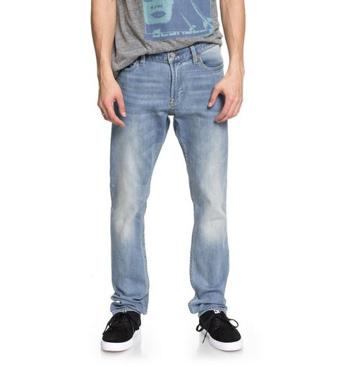 DC Shoes Slim Fit Jeans Worker Light Indigo Blue