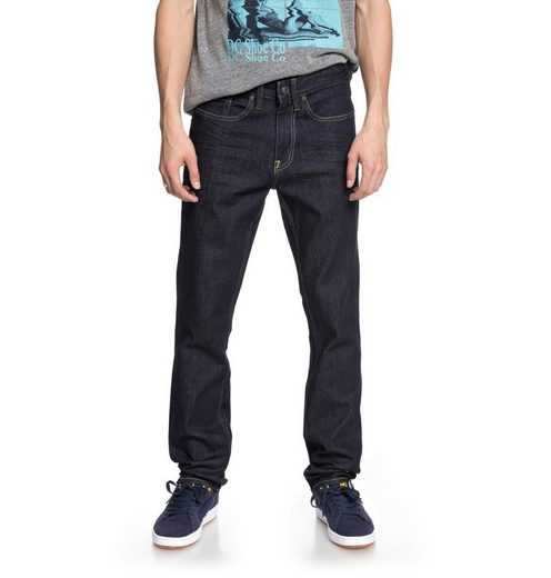 Dc Shoes Slim Fit Jeans Worker Indigo Rinse