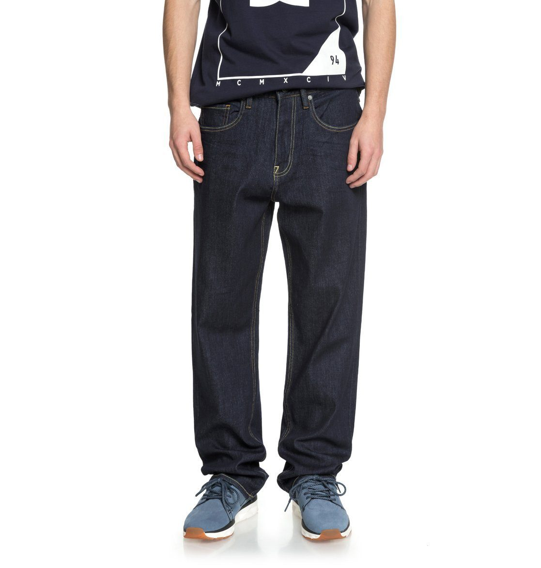DC Shoes Relax-fit-Jeans »Worker Indigo Rinse«