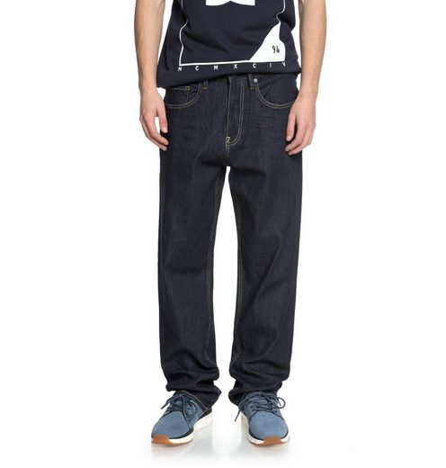 Dc Shoes Relaxed Fit Jeans Worker Indigo Rinse