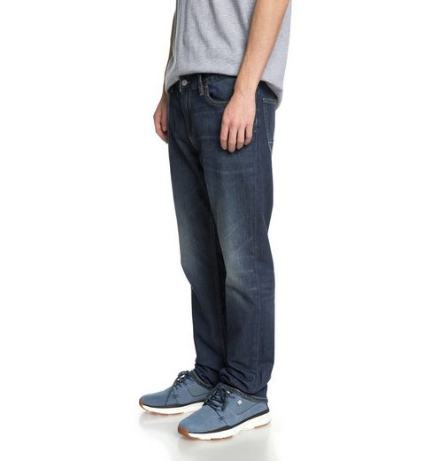 DC Shoes Straight Fit Jeans Worker Medium Stone