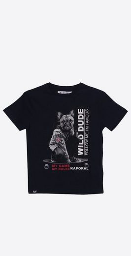 Kaporal T-Shirt mit coolem Statement-Print »Akey«