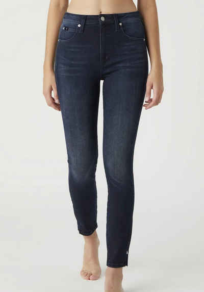 Calvin Klein Jeans Skinny-fit-Jeans »High Rise Skinny Ankle« mit Calvin Klein Jeans Logo-Badge