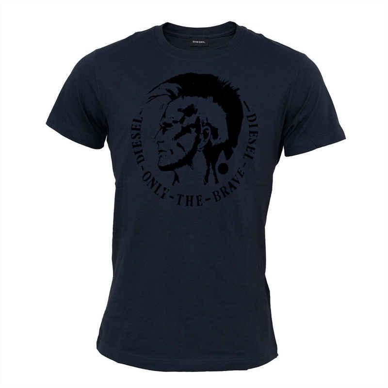 Diesel T-Shirt »T-Diego« Irokesenkopf, Only-the-Brave