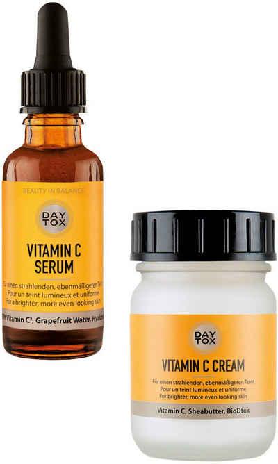 DAYTOX Gesichtspflege-Set »Vitamin C Glow Duo« Spar-Set, 2-tlg.
