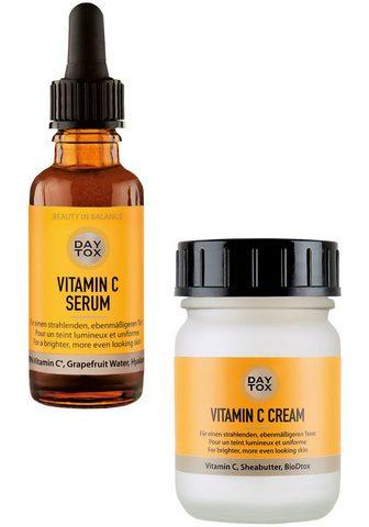 DAYTOX Gesichtspflege-Set »Vitamin C Glow Duo...