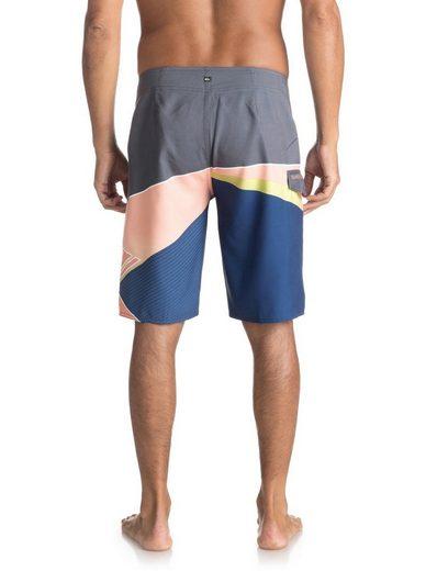 21 Logo Slash Fade Boardshorts Quiksilver WHAfXX