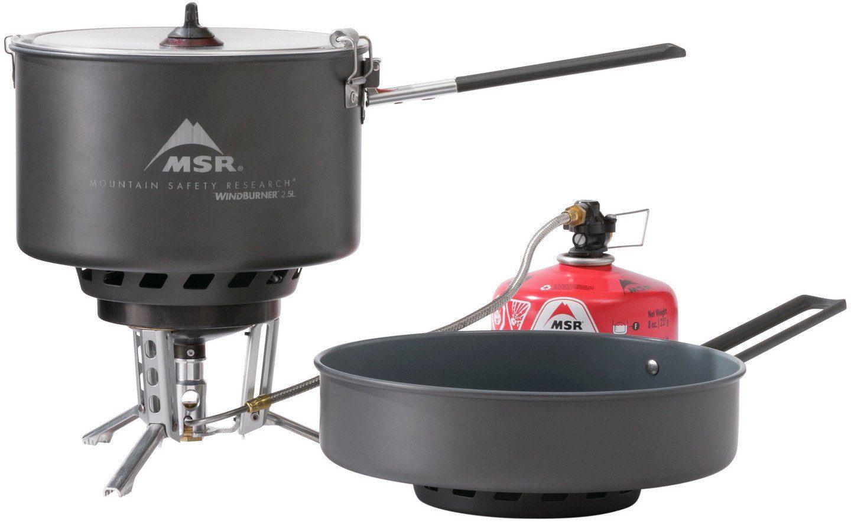 MSR Camping-Kocher »WindBurner Combo System«