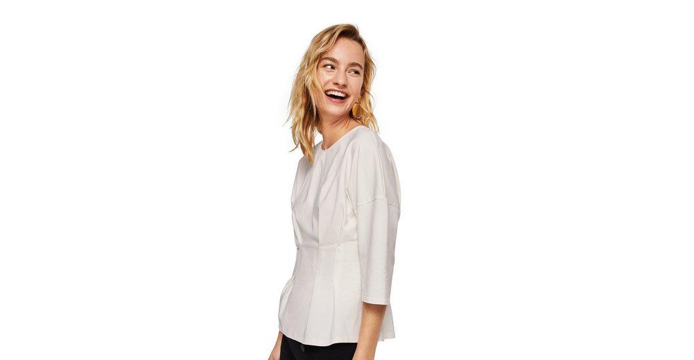 MANGO T-Shirt mit Faltendetails Freiraum 100% Original Billig Verkauf Verkauf 100% Garantiert Mit Paypal Verkauf Online GeM6zIfQo