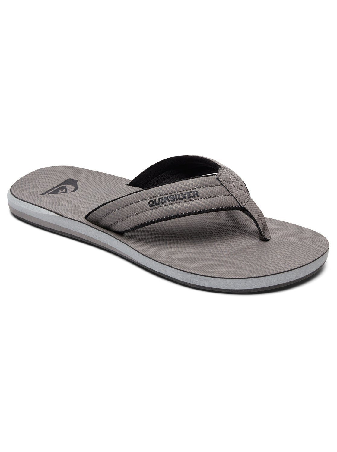 Quiksilver Sandalen Carver Nubuck online kaufen  Grey#ft5_slash#grey#ft5_slash#grey